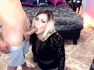 Tranny Hot Blowjob and Wild Butthole Bareback